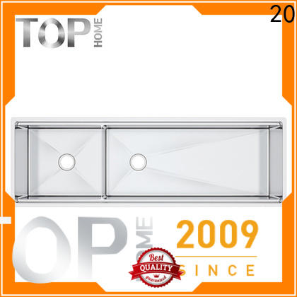 Top Home durable stainless steel undermount sink easy cleanning for outdoor