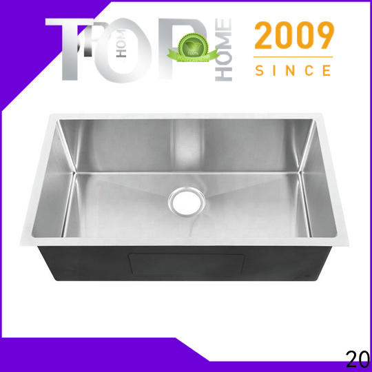 Top Home ldr3218bl commercial stainless steel sink convenience kitchen
