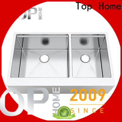 Top Home apron front kitchen sink dewatering rapidly for outdoor