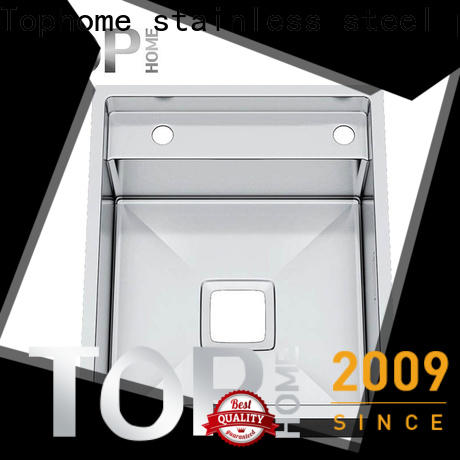 Top Home Stainless steel top mount kitchen sinks online farmhouse