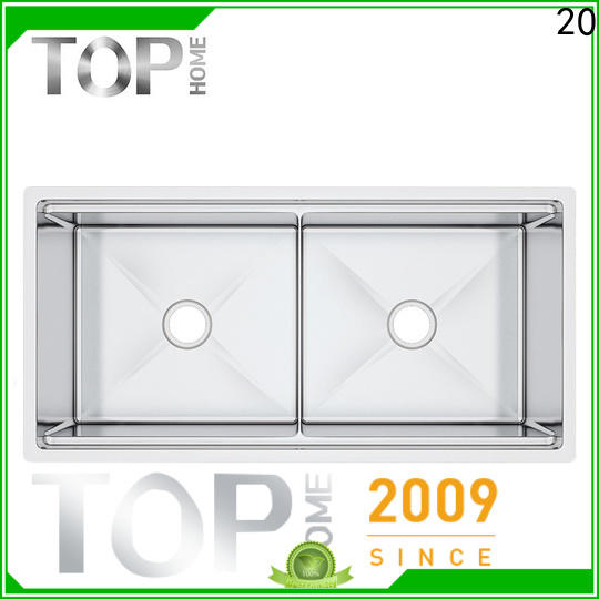 Top Home ldr4620c undermount stainless steel kitchen sink easy cleanning for outdoor
