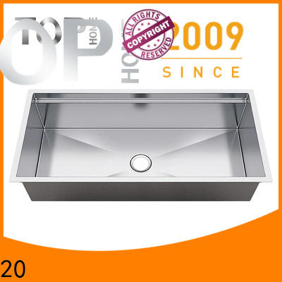 Top Home drop stainless steel under mount sink wash easily
