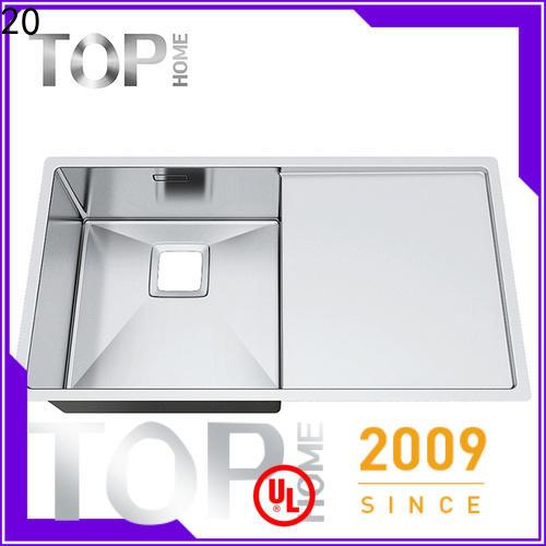 Top Home 18gauge top mount sink for sale kitchen