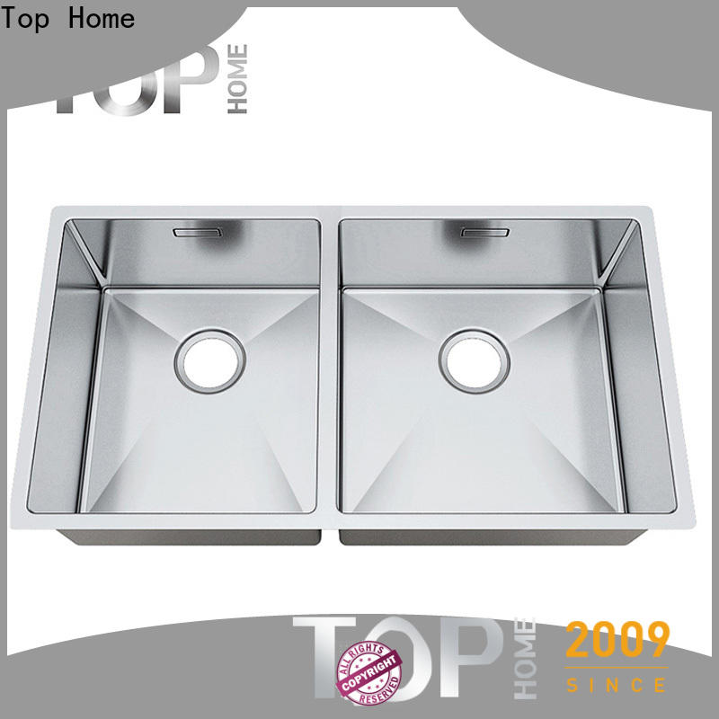 Top Home inside commercial stainless steel sink easy installation kitchen