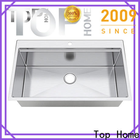 Top Home corner single bowl kitchen sink for sale for countertop