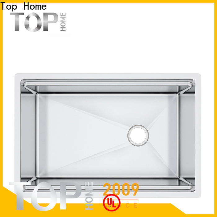 Top Home handmade stainless steel under mount sink for sale for restaurant