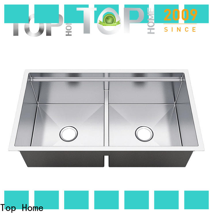 Top Home durable stainless steel undermount sink metal for outdoor