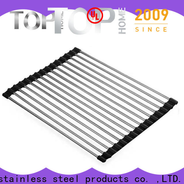 Top Home Stainless steel hanging dish drying rack promotion for drying