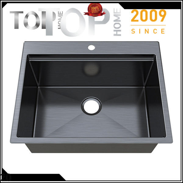 Top Home apron black sink for sale for farm