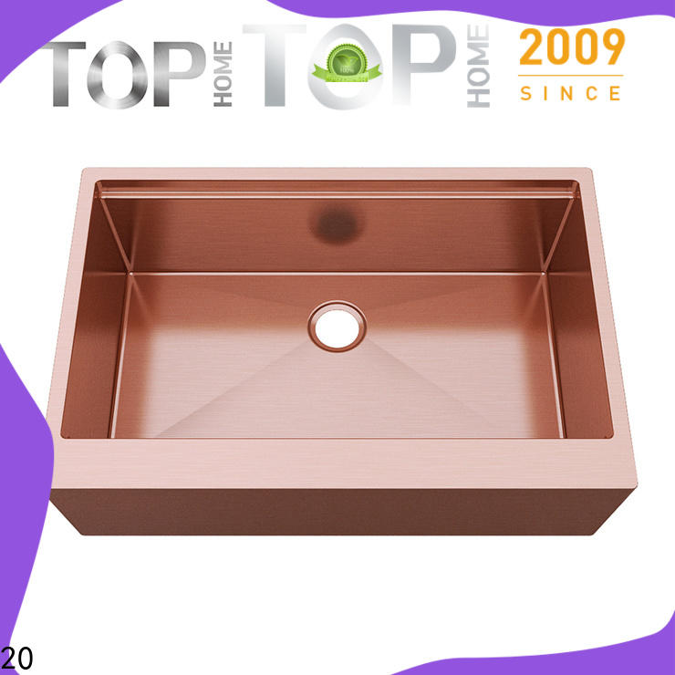 Top Home apbr2020s stainless steel bathroom sink factory price for farmhouse