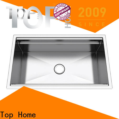 Top Home inside double bowl kitchen sink wash easily for kitchen