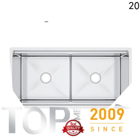 Top Home ldr3620a stainless steel sink easy cleanning for countertop