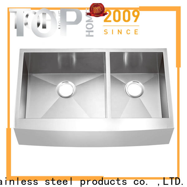 double farmhouse sink double easy cleanning for kitchen