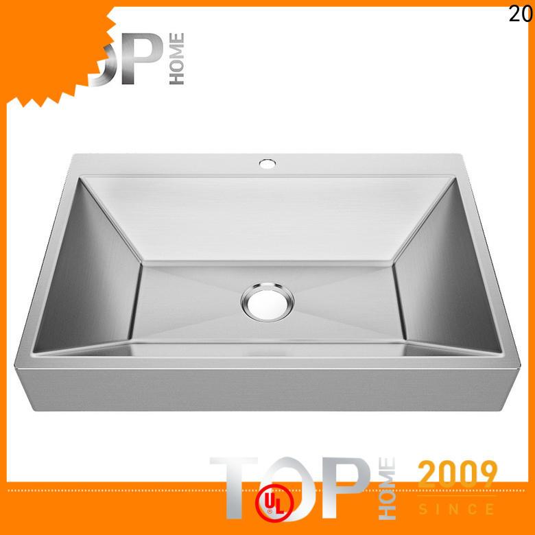 pedestal stainless steel bathroom sink steelbrushed wholesale for Lavatory