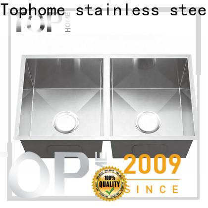 Top Home inside black undermount sink durability restaurant
