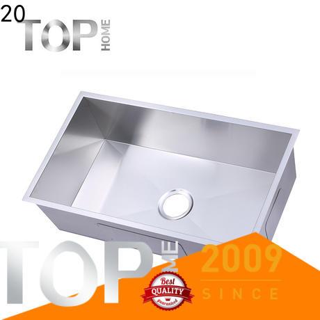 Top Home industrial undermount farmhouse sink durability kitchen