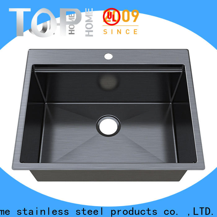 Top Home topmount stainless steel bathroom sink for sale for kitchen