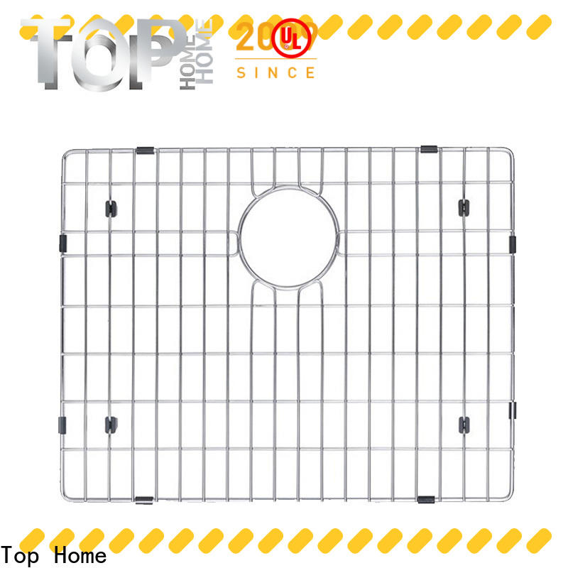 Top Home Stainless steel sink protector mat display villa