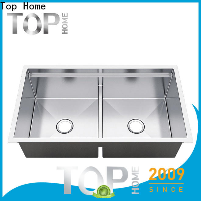 Top Home inch undermount stainless steel kitchen sink metal for outdoor