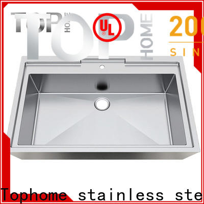 Top Home durability commercial stainless steel bathroom sinks fixtures for washroom