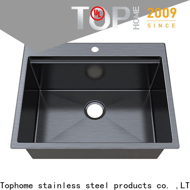 Top Home basin gold sink double bowls for restaurant