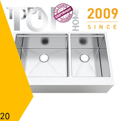 easy installation stainless steel apron sink handcrafted for sale for restaurant