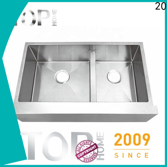Top Home certification apron front sink durable for outdoor