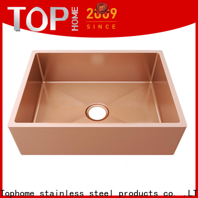 Top Home highest quality kitchen sink dual mount double bowls for apartment