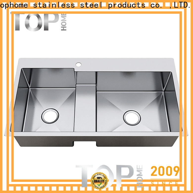Top Home kitchen top mount sink easy cleaning cook