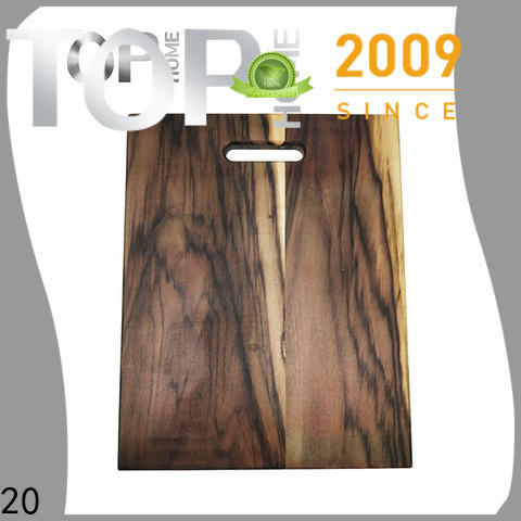 Handcrafted wood cutting boards steel wash easily for chopping