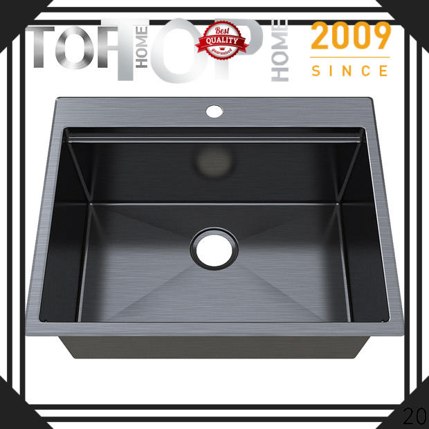 apron black sink gauge double bowls for apartment