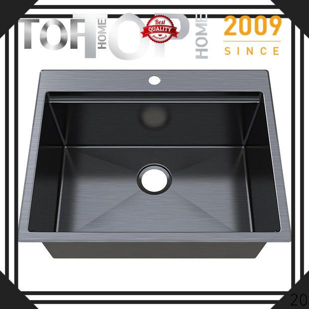 apron black sink gauge double bowls for apartment