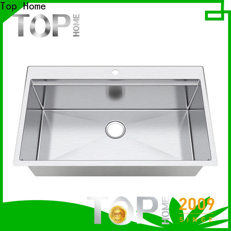Top Home undermount galley sink easy cleanning