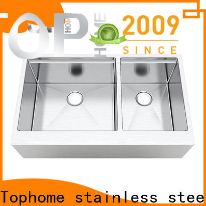 Top Home easy installation stainless steel farmhouse sink dewatering rapidly for cooking