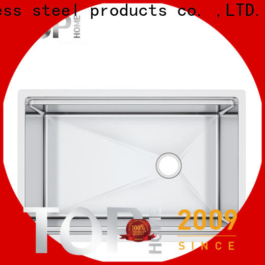 Top Home modern stainless steel undermount sink manufacturer for outdoor
