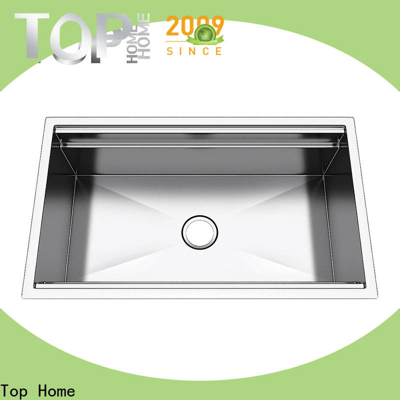 Top Home durable under mount sink wash easily for cooking
