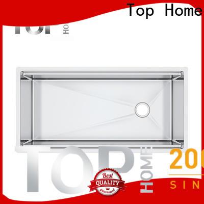 Top Home handmade undermount stainless steel kitchen sink for kitchen