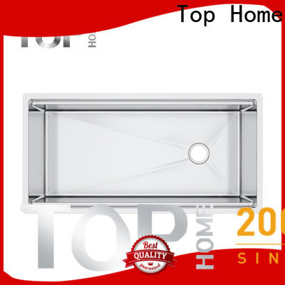Top Home handmade undermount stainless steel kitchen sink for kitchen