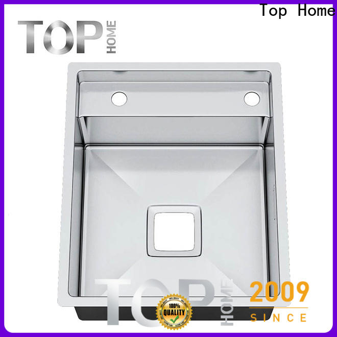easy cleanning top mount apron sink dropin easy installation villa