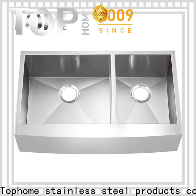 Top Home perfect apron front sink dewatering rapidly for outdoor