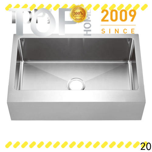 Top Home farmhouse apron sink dewatering rapidly for kitchen