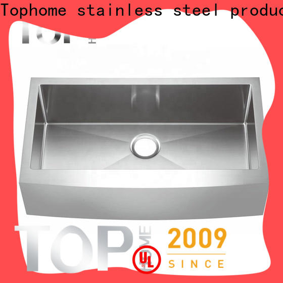 Top Home apron stainless farmhouse sink supplier for cooking