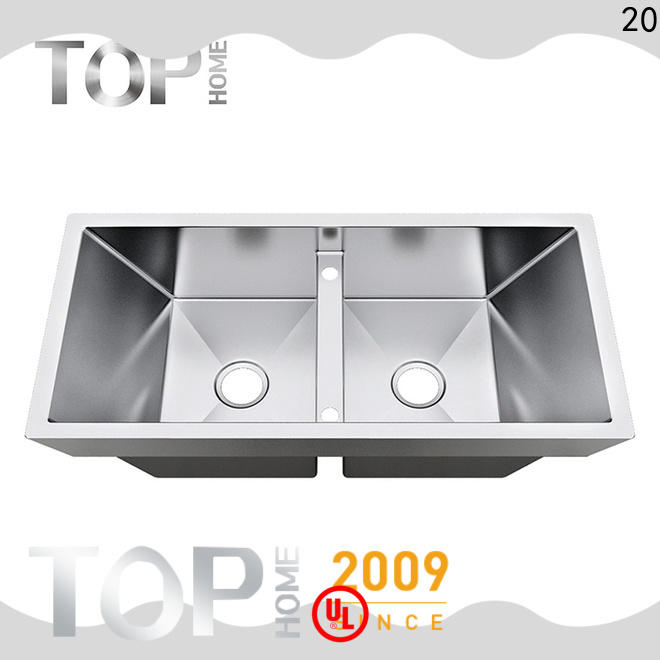 Top Home bowls top mount apron sink easy installation cook
