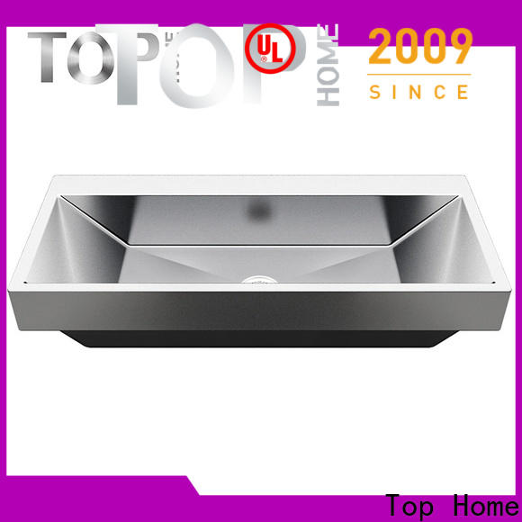 Top Home good quality stainless bathroom sink corner for toilet