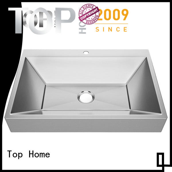 Top Home Modern stylish stainless steel bathroom sink corner for toilet