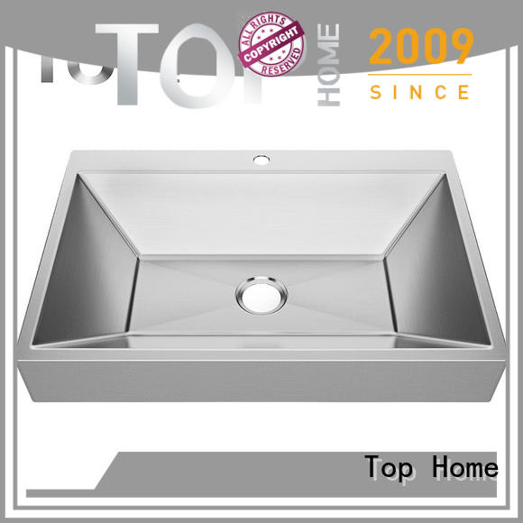 handmade stainless steel bathroom sink corner Top Home