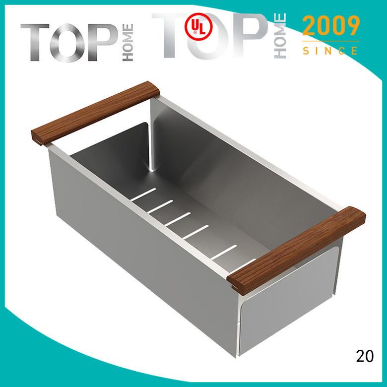 Top Home colander over the sink colander wash easily for cooking utensils