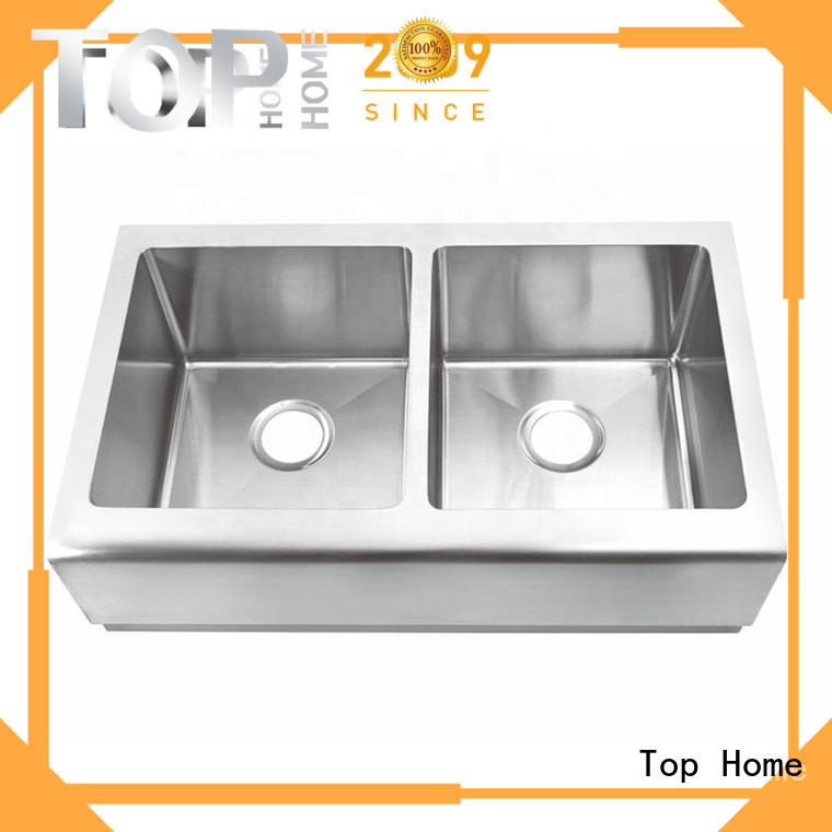 Top Home farmhouse apron sink easy cleanning for kitchen