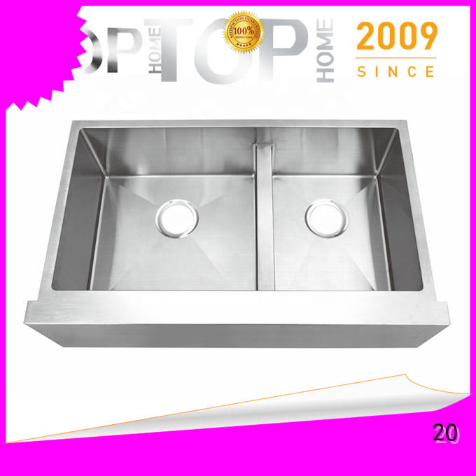 Top Home cupc farmhouse kitchen sink easy cleanning for outdoor