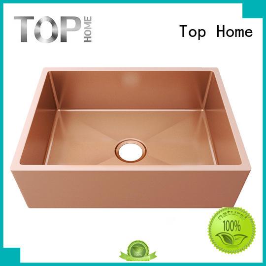 colander ledge topmount Top Home Brand black sink supplier